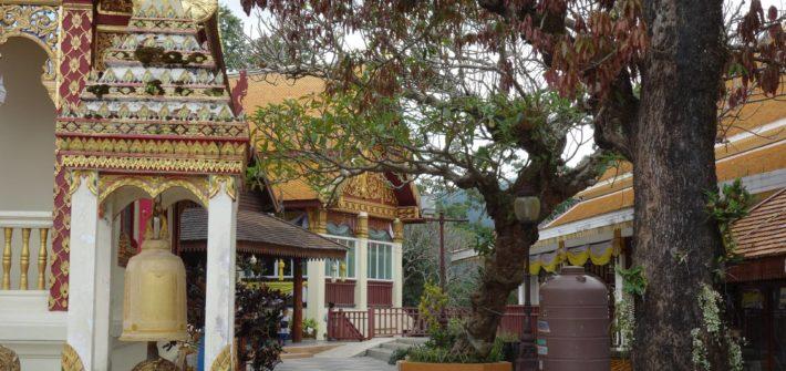 Teren świątyni Wat Phra That Doi Suthep