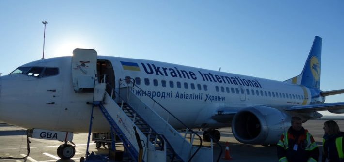 Samolot linii Ukraine International Airlines