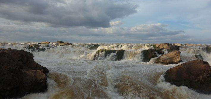 Wodospad Sopheak Mit w Kambodży w Stung Treng