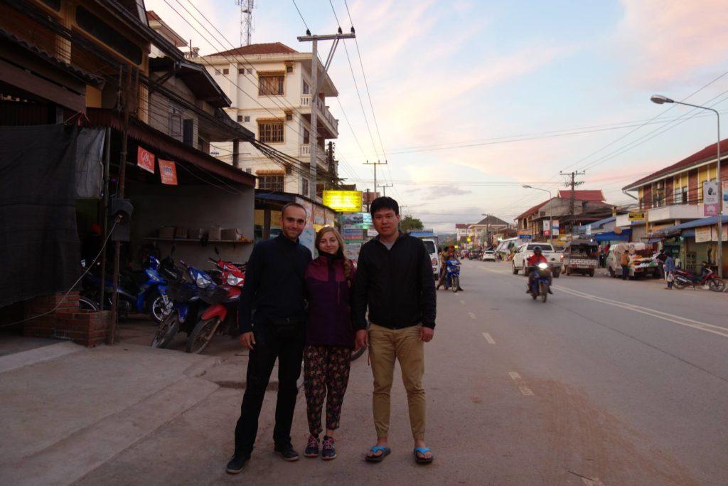 z kierowcą z którym dojechaliśmy do Luang Namtha