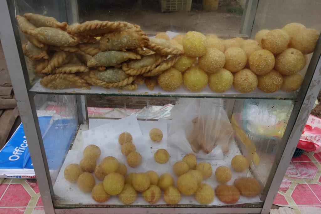 w stronę do Luang Namtha smakołyki Laos