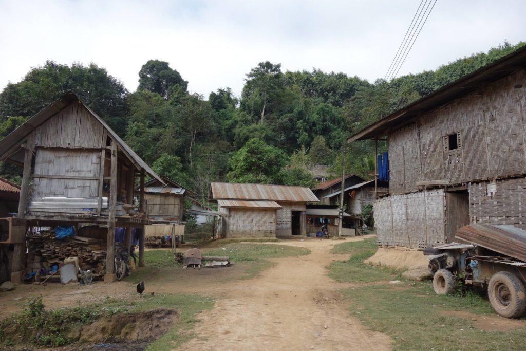 Wioska Nam Dee Luang Namtha