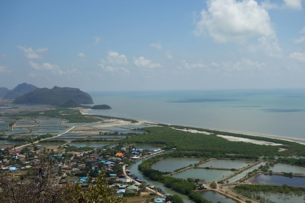punkt widokowy khao daeng Khao Sam Roi Yot National Park