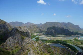 Widok z Khao Daeng Viewpoint