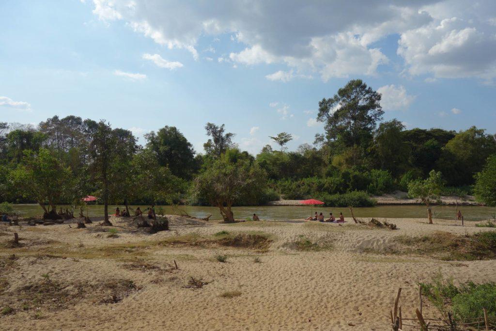 Plaża na Don Det