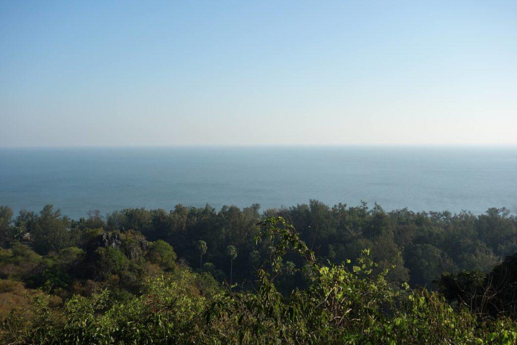 Punkt widokowy na zatoke tajlandzką