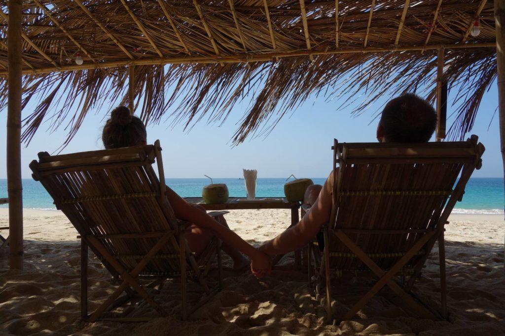 Kokosy w najlepszej restauracji w Ngapali