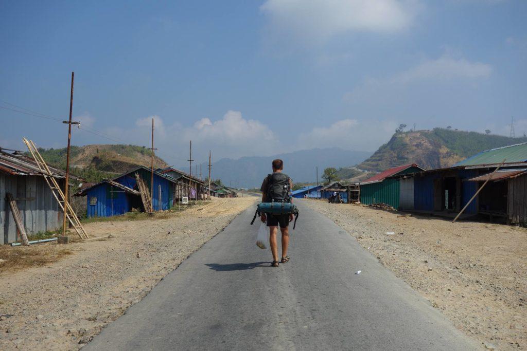 Jeden z upalnych dni w Birmie